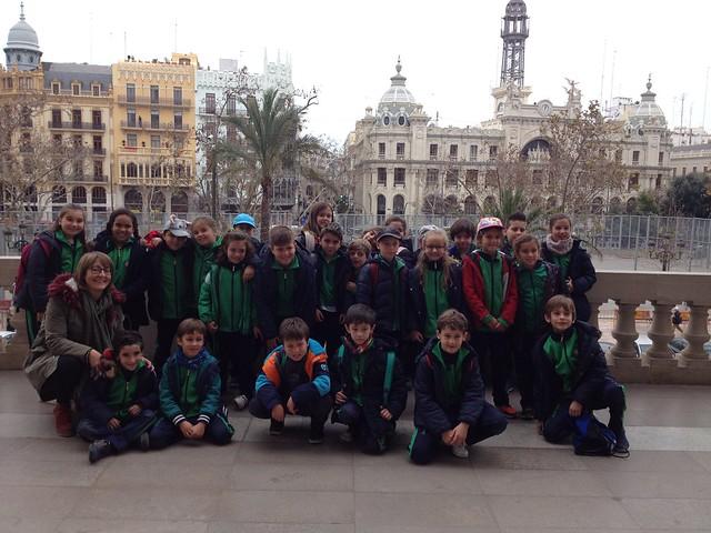 Visita al cultural al centro de Valencia