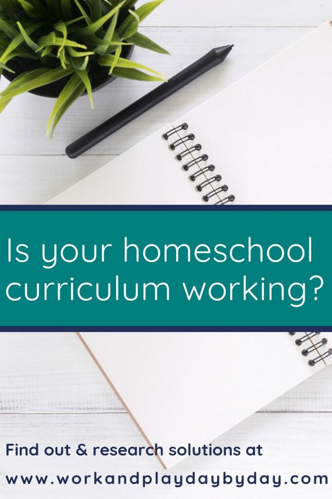 Is your homeschool curriculum working?