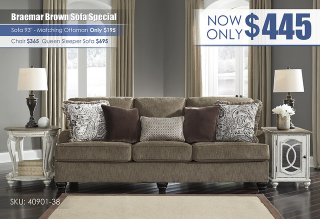 Braemar Brown Sofa Special_40901-38-SET