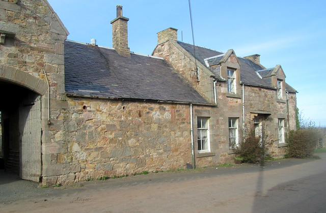 Farm buildings, near Cove, Scottish Borders