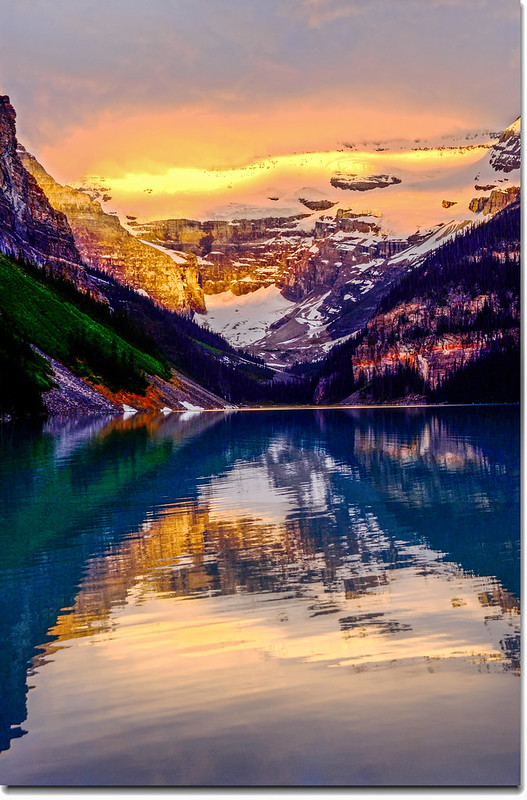 Lake Louise sunrise (8)