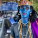 Krishna of the Dishevelled Locks and Blues