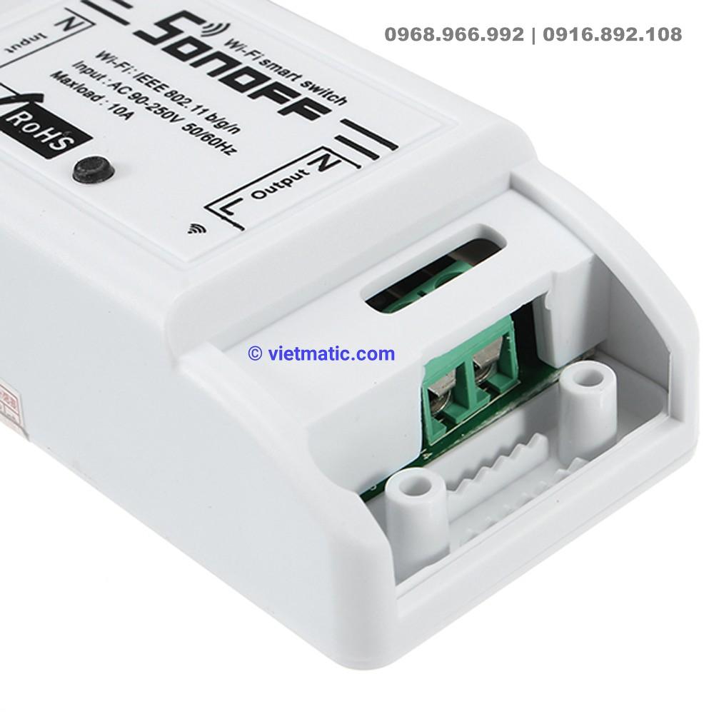 Bộ công tắc điều khiển thông minh chuẩn Wifi, 1 kênh Sonoff 3