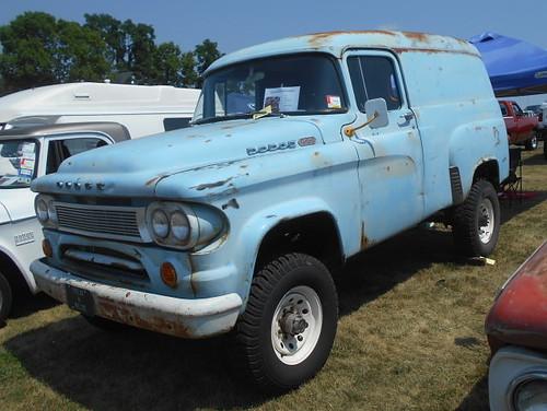 1964 Dodge W-100 Town Panel