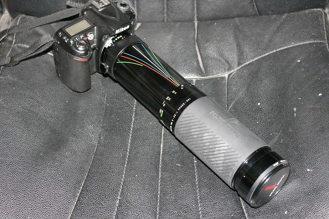 100-500mm lens on camera