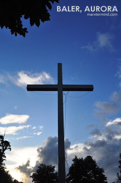 Cross on top of Ermita Hill