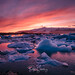 Sunset in the ice by PepinAir