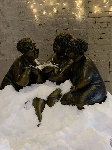 Chatting in the Snow