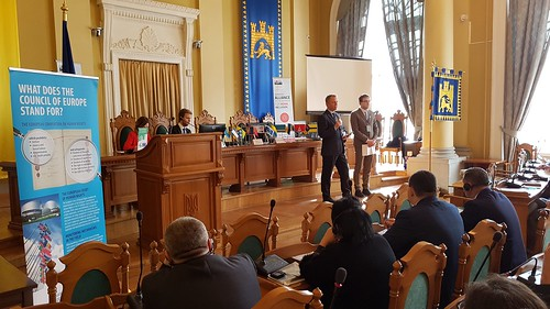 Meeting in Lviv of the Ukrainian Alliance for Roma Inclusion