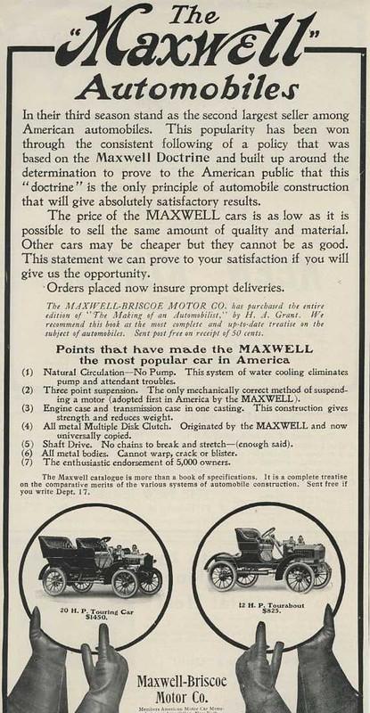 1907 Maxwell