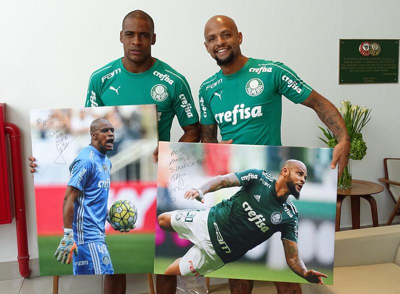Palmeiras: homenagem atletas