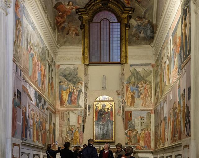 The Brancacci Chapel in Santa Maria del Carmine
