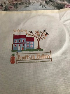 My Tree is finally Finished on Pumpkin Hallow Farms by Little House Needleworks - Friday March 22, 2019