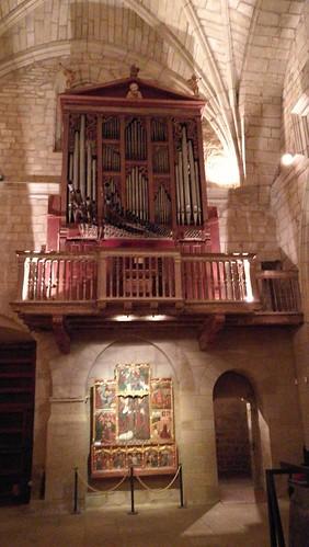 Òrgan església San Miguel, Uncastillo, Aragó