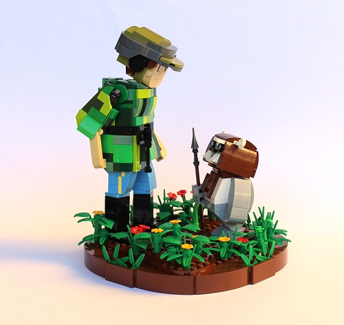 Leia meets an Ewok