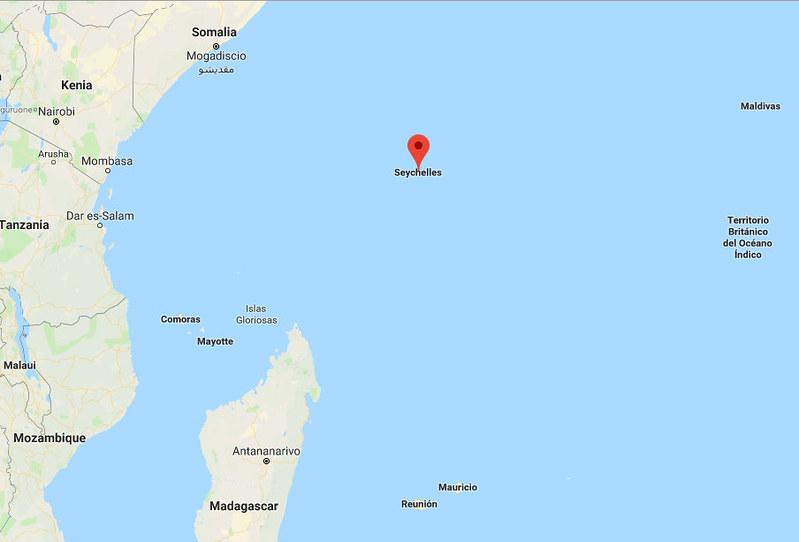 Seychelles mapa 2