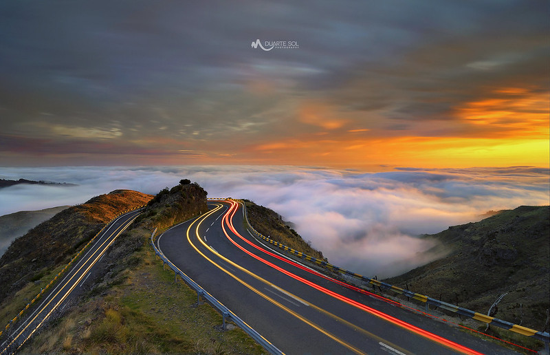 Rush Hour in the Mountains of Madeira