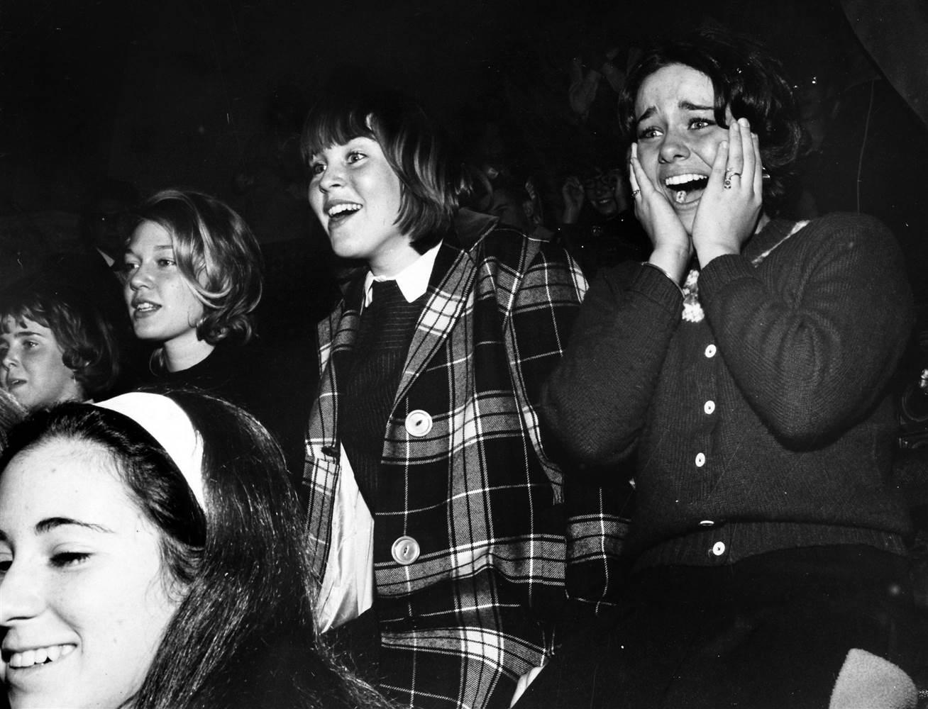 Beatlemania in the U.S., February 1964.
