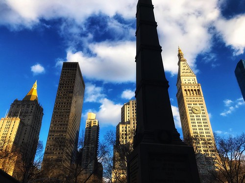 Landscape of Madison Square