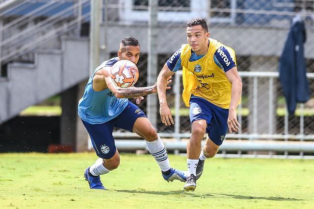Treino Grêmio 24/02/19