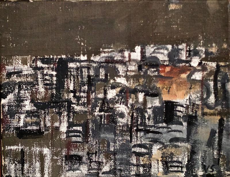 7 e. arrondissement Paris (1960) - Vieira da Silva (1908 - 1992)