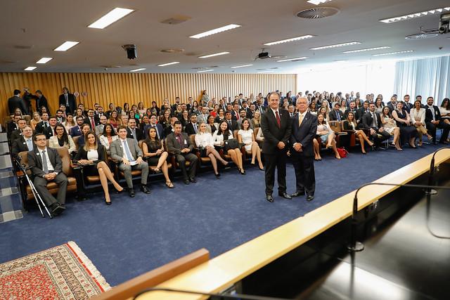 Aprovados no Concurso Nacional da Magistratura do Trabalho participam de audiência de opção de lotação