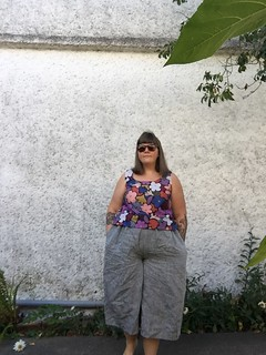 Named Ninni Culottes Plus Size Review in Linen
