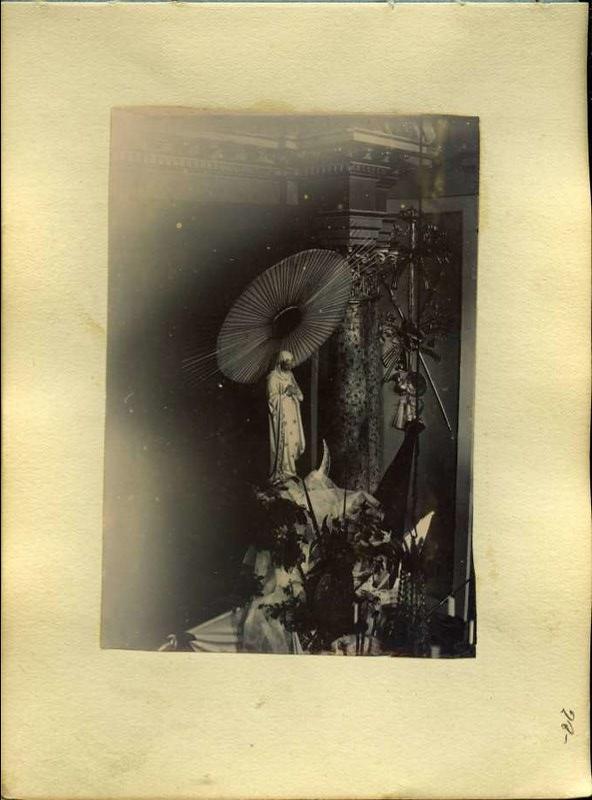 Imagen religiosa sin identificar. Álbum con fotografías de Toledo hacia 1890. Fototeca del Museo del Ejército, signatura MUE 120476