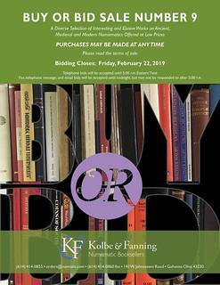 K-F Buy-or-Bid Sale 9 cover