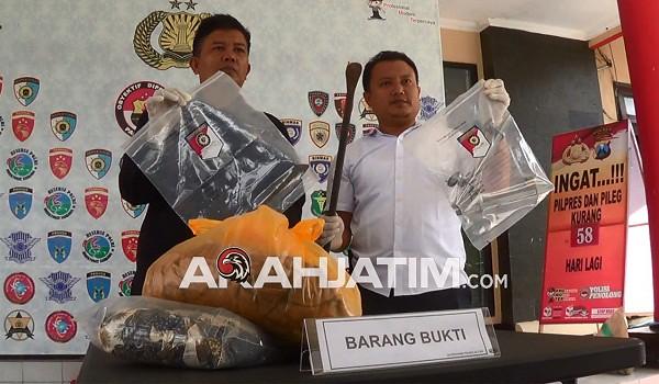Polisi Kirim Pelaku Pembunuhan Ke RS Bhayangkara Di Kediri