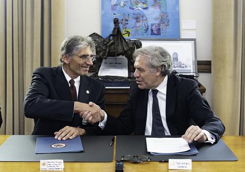 OEA e Instituto Interamericano para la Investigación del Cambio Global trabajarán juntos por el desarrollo sostenible