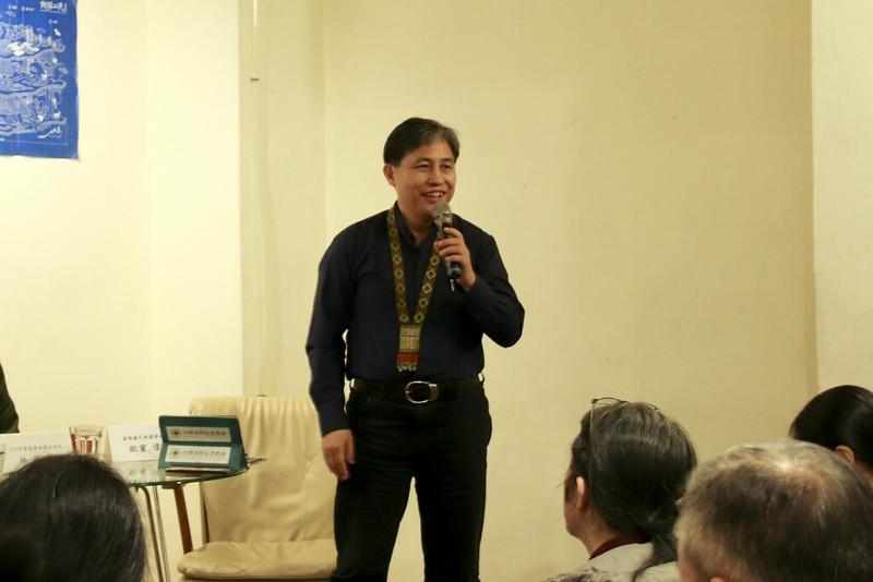 泰雅爾民族議會秘書長歐蜜偉浪認為,不論是原住民或林務局都應該坐下來對話。(攝影/蔡馥宇)