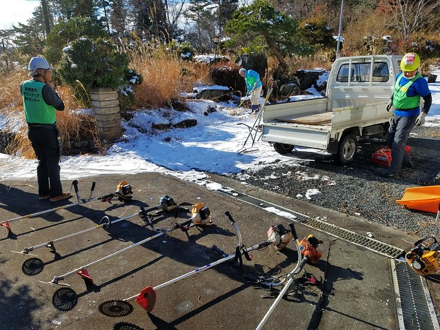 Jヴィレッジ再開記念マラソン(雪で中止)→小高でボランティア(援人 2019年 0118便)
