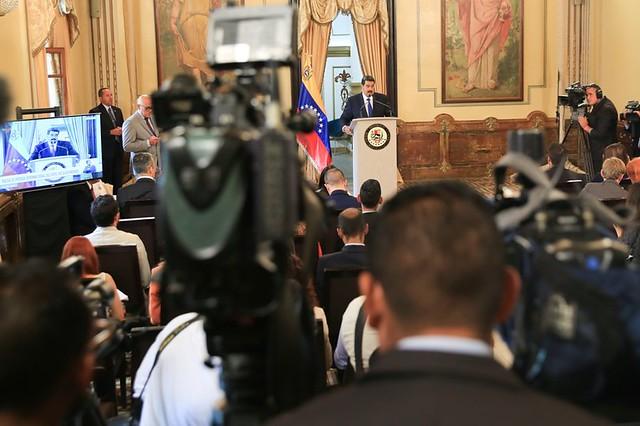 Maduro diz estar disposto ao diálogo, mas rejeita imposição da Europa sobre eleições