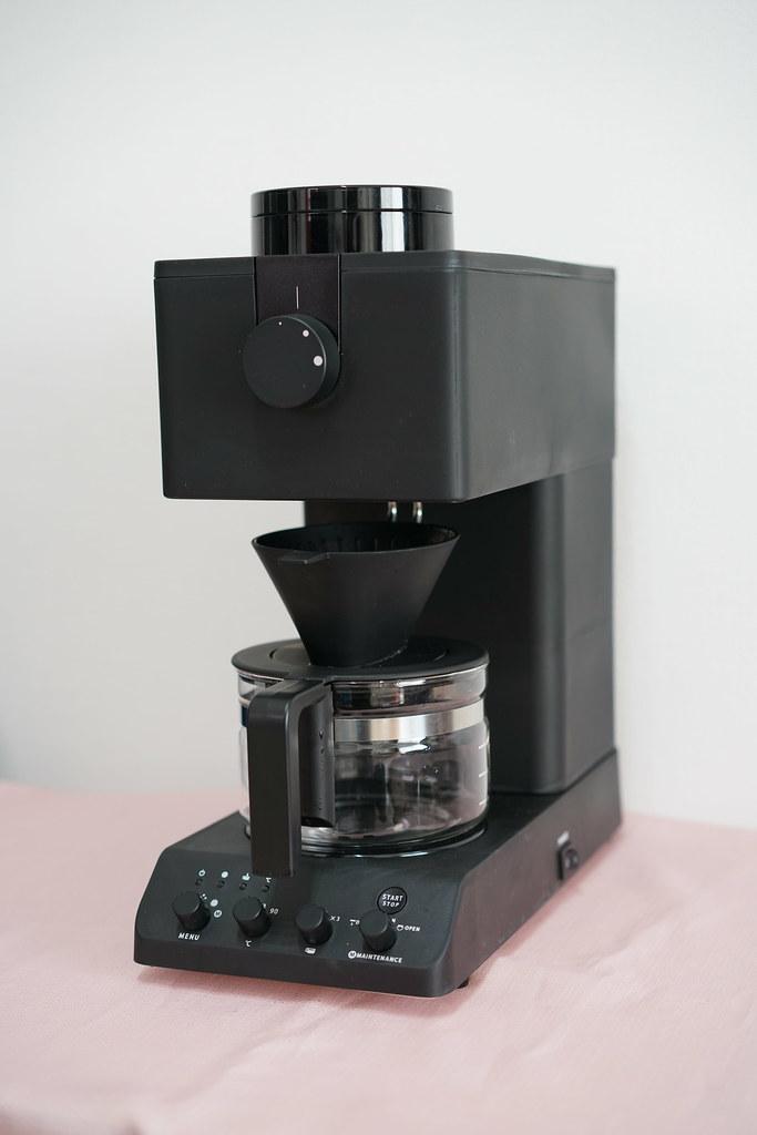 ツインバード全自動コーヒーメーカー