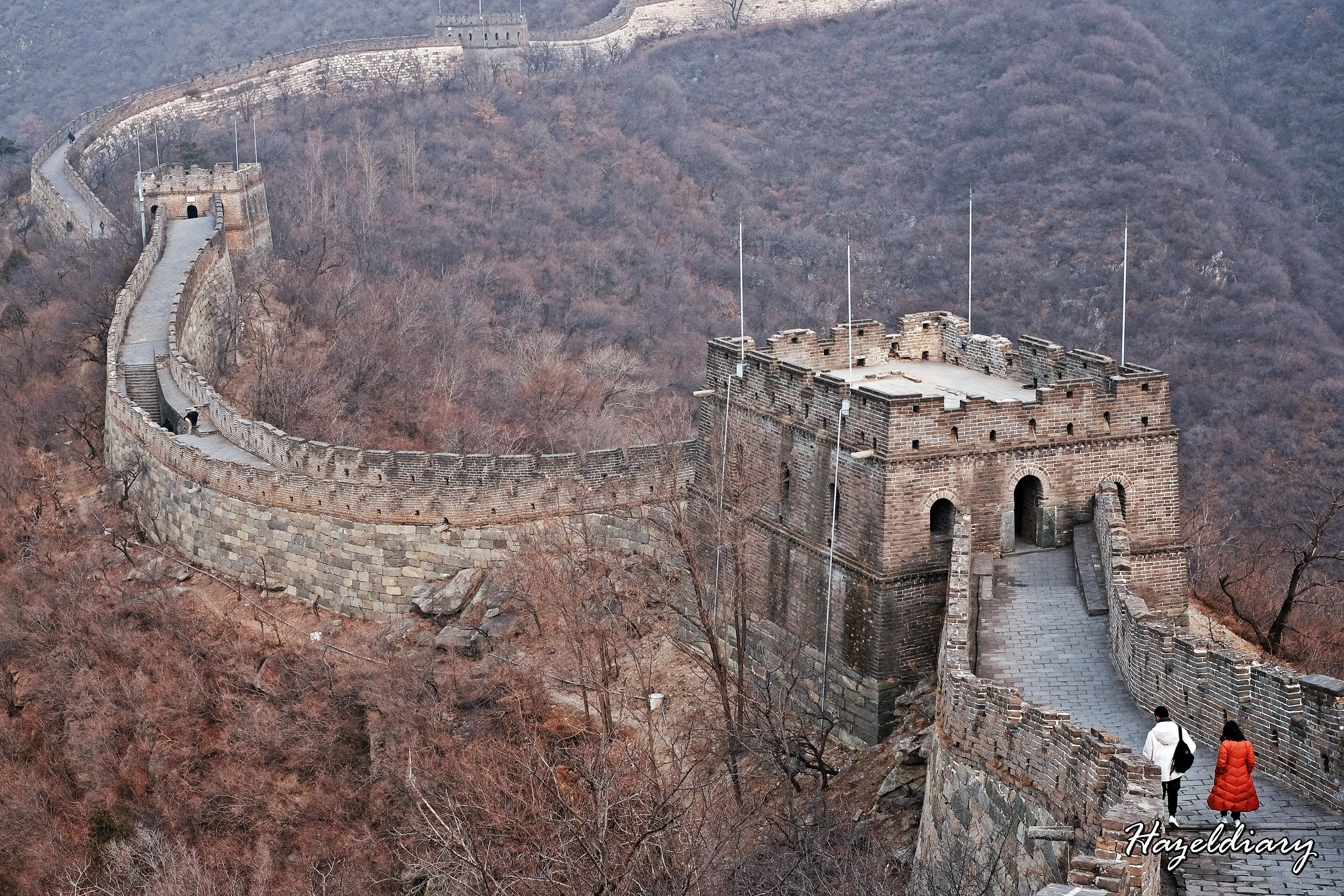 The great wall of china mutianyu section-3