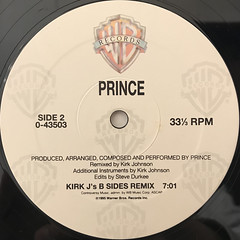 PRINCE:PURPLE MEDLEY(LABEL SIDE-B)