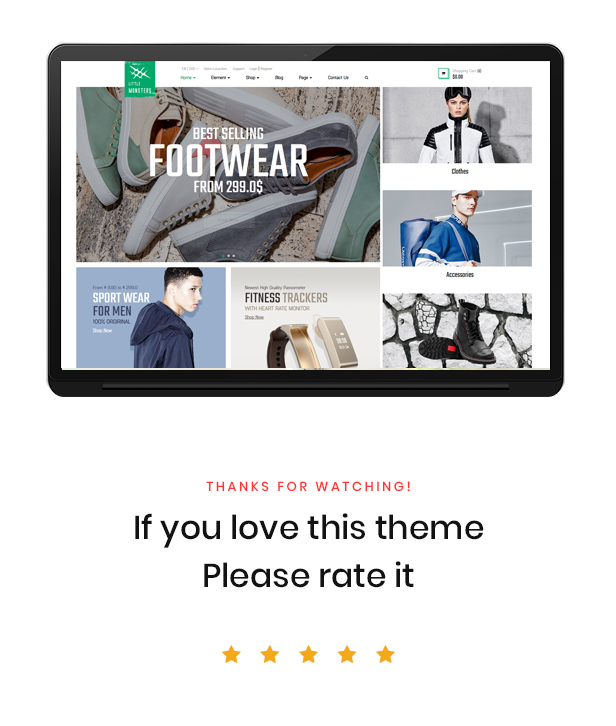 Ap Little Monster Sport Shop Prestashop Fashion Theme - Best rate