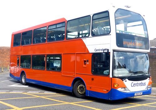 YN53 CFO 'Centrebus' No. 908. Scania N94UD / East Lancs. on Dennis Basford's railsroadsrunways.blogspot.co.uk'