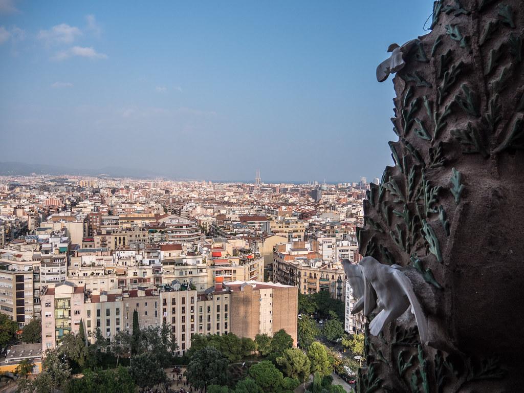 Barcelone, depuis la tour de la Nativité... 44725531010_f1d88d7361_b