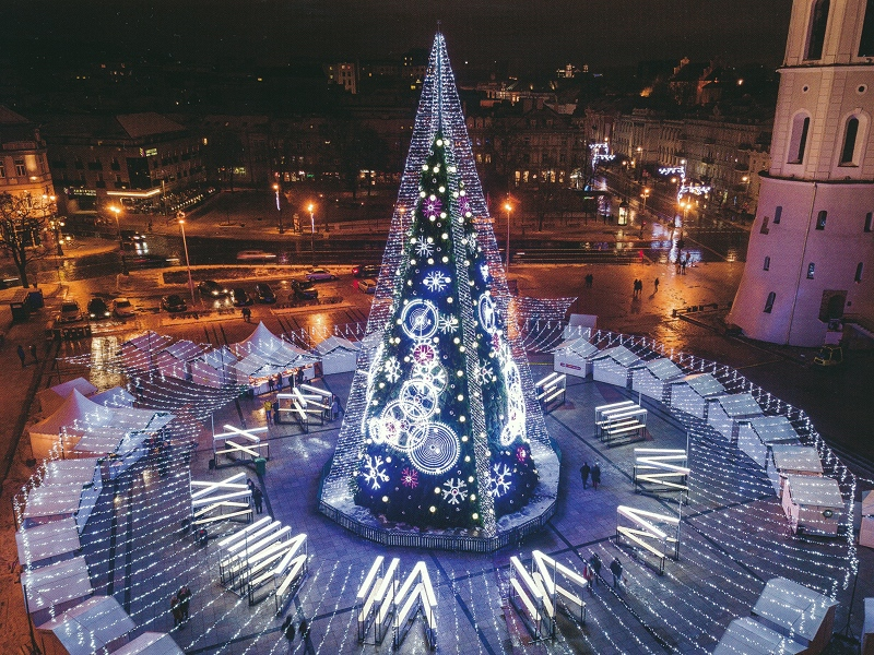 Vilniaus eglute 2018 m
