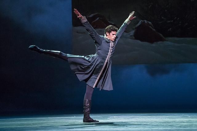 Thiago Soares in The Winter's Tale Asphodel Meadows, The Royal Ballet © 2018 ROH. Photograph by Tristram Kenton