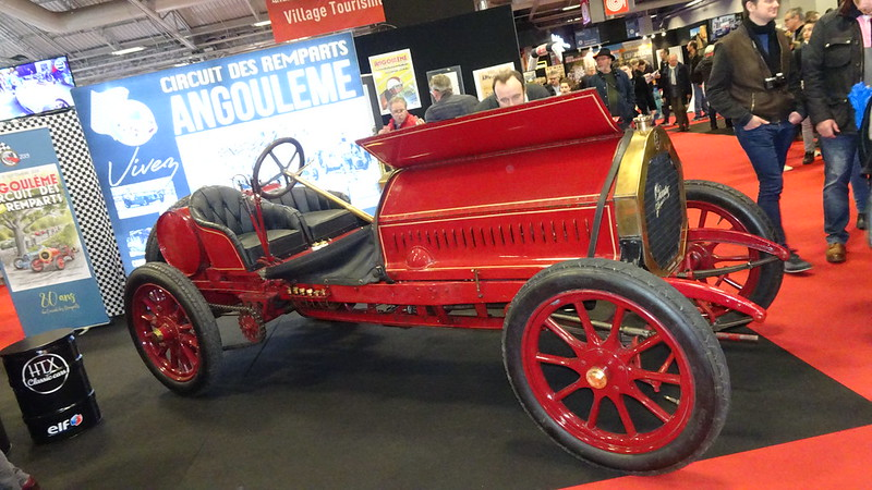 Gladiator Grand Prix 9,4 litres 1904 - Retromobile Paris 2019  46165766765_2e44f3a95e_c