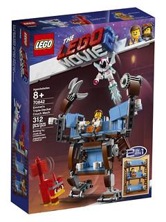 令人熟悉的三層沙發變形再登場!! LEGO 70837、70838、70842《樂高玩電影2》The LEGO Movie 2 Sets 更多盒組登場~