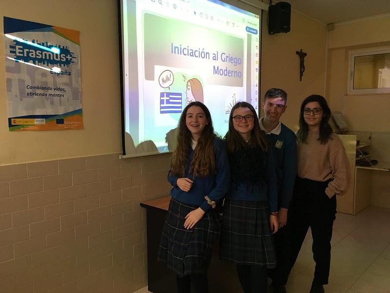Erasmus+ (GFLS): clases de griego