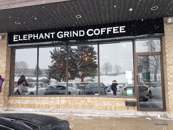 Elephant Grind Coffee storefront