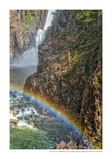 Rainbow at Capilano Canyon