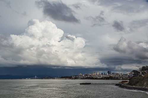 Cloudy Sky Over SF | by nocureforgravity