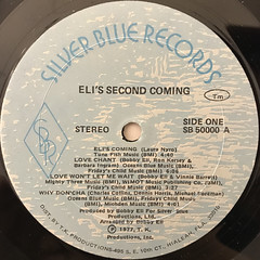 ELI'S SECOND COMING:ELI'S SECOND COMING(LABEL SIDE-A)
