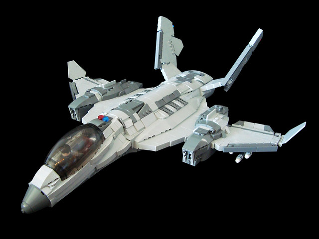 乐高ASREV飞船从萤火虫